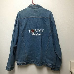 Tommy Hilfiger Vintage Denim Jacket with Crest